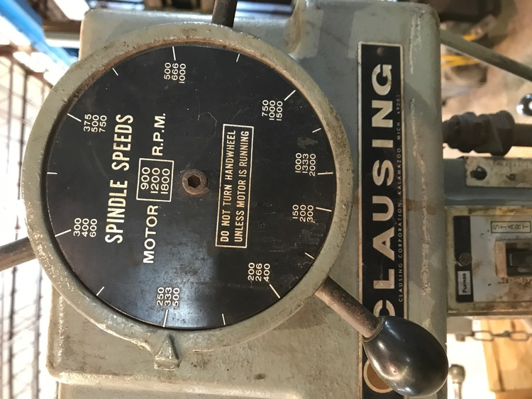 CLAUSING DRILL Press | Miscellaneous | Belmont Machinery Company