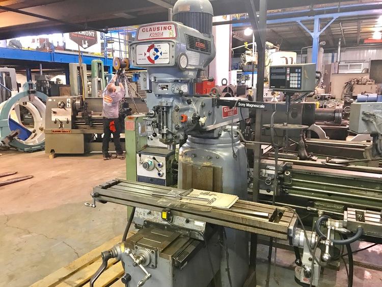 CLAUSING KONDIA Vertical Milling Machine | Milling Machines
