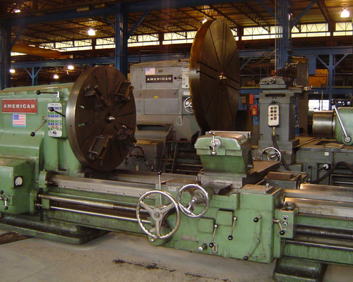 Large lathes are our speciality