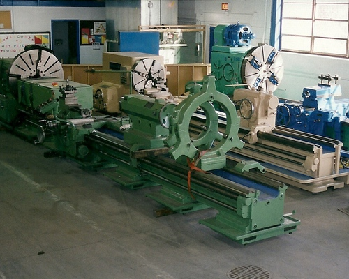 Large Engine Lathes