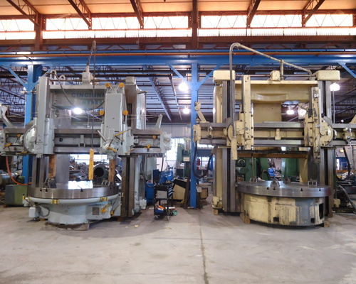 Large Vertical boring mills