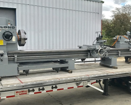 3220 Leblond Lathe leaving for its new owner